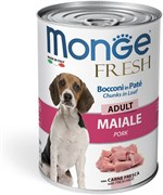 Monge - Консервы для собак мясной рулет (телятина) Dog Fresh Chunks in Loaf