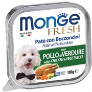 Monge - Консервы для собак (курица с овощами) Dog Fresh