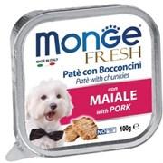 Monge - Консервы для собак (свинина) Dog Fresh