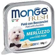 Monge - Консервы для собак (треска) Dog Fresh