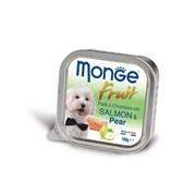 Monge - Консервы для собак ( лосось с грушей) Dog Fruit