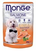 Monge - Паучи для собак (лосось) Dog Grill Pouch