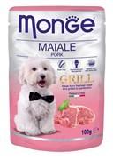 Monge - Паучи для собак (свинина) Dog Grill Pouch