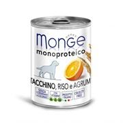 Monge - Консервы для собак (паштет из индейки с цитрусовыми) Dog Monoproteico Fruits
