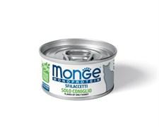 Monge - Мясные хлопья для кошек (кролик) Cat Monoprotein