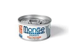 Monge - Мясные хлопья для кошек (индейка) Cat Monoprotein