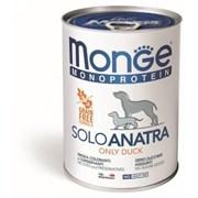 Monge - Консервы для собак (паштет из утки с малиной) Dog Monoproteico Fruits