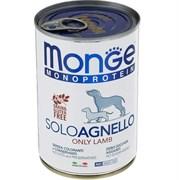 Monge - Консервы для собак (паштет из ягненка с черникой) Dog Monoproteico Fruits
