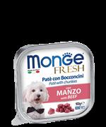 Monge - Консервы для собак (паштет из говядины) Dog Monoprotein Solo