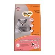 Мнямс - Сухой корм для взрослых кошек для кожи и шерсти (лосось) Skin&Coat