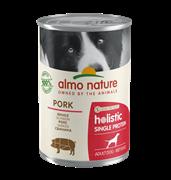 Almo Nature - Консервы для собак с чувствительным пищеварением (свинина) Holistic Single Protein