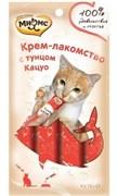 Мнямс - Крем-лакомство для кошек (тунец Кацуо) 4 шт. х 15 г