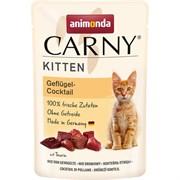 Animonda - Паучи для котят (коктейль из мяса домашней птицы) CARNY KITTEN