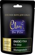 Clan De File - Лакомство для собак всех пород (утка)