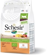 Schesir Bio - Cухой корм для стерилизованных кошек (домашняя птица)