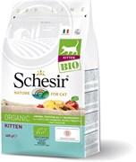 Schesir Bio - Cухой корм для котят (домашняя птица)