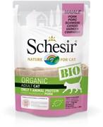Schesir Bio - Консервы для кошек (свинина)