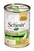 Schesir Bio - Консервы для собак (курица)