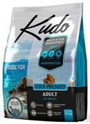 Kudo - Сухой беззерновой корм холодного прессования для взрослых собак всех пород Адриатическая рыба (сардина)