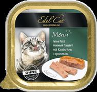 Edel Cat - Паштет для кошек (кролик)