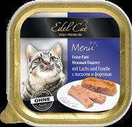 Edel Cat - Паштет для кошек (лосось с форелью)