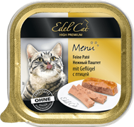 Edel Cat - Паштет для кошек (птица)