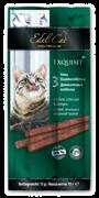 Edel Cat - Лакомство для кошек (колбаски с уткой, печенью и кошачьей травой)