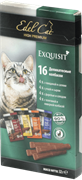 Edel Cat - Лакомство для кошек (мини-колбаски ассорти)