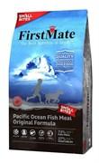 FirstMate - Сухой беззерновой корм для щенков и собак мелких пород (с рыбой) Pacific Ocean Fish Meal Original Small Bites