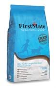 FirstMate - Сухой низкозерновой корм для щенков и собак всех пород (с рыбой и овсом) Wild Pacific Caught Fish Meal & Oats