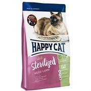 Happy Cat - Сухой корм для стерилизованных кошек (с ягненком) Adult Sterilised Weide Lamm