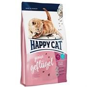 Happy Cat - Сухой корм для молодых кошек (с домашней птицей) Supreme Junior Geflugel