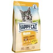 Happy Cat - Сухой корм для взрослых кошек для выведения шерсти из желудка (с птицей) Minkas Hairball Control