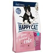 Happy Cat - Сухой беззерновой корм для молодых кошек (с уткой) Supreme Junior Grainfree Ente