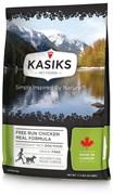 Kasiks - Сухой беззерновой корм для щенков и собак (с курицей) Free Run Chicken Meal