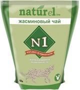 """N1 - Комкующийся наполнитель """"Жасминовый чай"""" на 4,5л"""