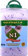 N1 - Силикагелевый наполнитель в банке на 8,3 литра crystals