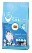 Van Cat - Наполнитель комкующийся без пыли для кошек (с ароматом марсельского мыла)