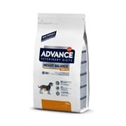 Advance (вет. корма) - Сухой корм для собак малых пород при ожирении Weight balance mini