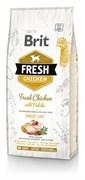 Brit Fresh - Сухой корм для взрослых собак всех пород (с курицей и картофелем) Chicken/Potato Adult Great Life