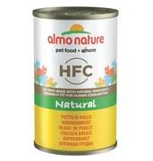 "Almo Nature - Консервы для кошек ""Куриная грудка"" Classic Adult Cat Chicken Breast"