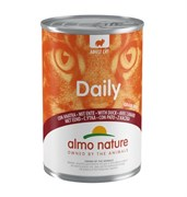 "Almo Nature - Консервы для кошек ""Меню с Уткой"" Daily Menu Duck"