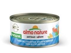Almo Nature - Консервы для кошек, 75% мяса (с Атлантическим Тунцом) Legend Adult Cat Atlantic Tuna