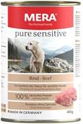 Mera - Консервы для собак (с говядиной) PURE SENSITIVE NASSFUTTER RIND