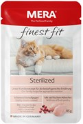 Mera - Паучи для стерелизованных кошек FINEST FIT NASSFUTTER STERILIZED