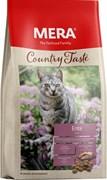 Mera - Беззерновой полнорационный корм для взрослых кошек (с уткой) COUNTRY TASTE ENTE