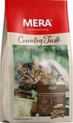 Mera - Беззерновой полнорационный корм для взрослых кошек (с говядиной) COUNTRY TASTE RIND