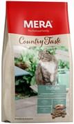 Mera - Беззерновой полнорационный корм для взрослых кошек (с индейкой) COUNTRY TASTE TRUTHAHN