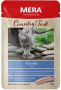 Mera - Паучи для кошек (с форелью) COUNTRY TASTE NASSFUTTER FORELLE