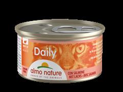 """Almo Nature - Консервы нежный мусс для кошек """"Меню с Лососем"""" Daily Menu Mousse with Salmon"""